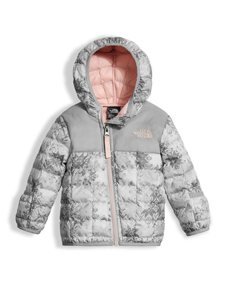 ThermoBall Hooded Jacket, White, Size 3-24 Months