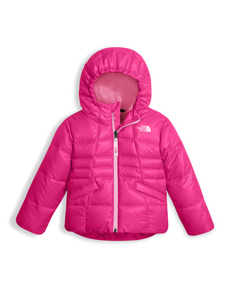 Girls' Moondoggy 2.0 Down Quilted Jacket, Pink, Size 2-4T