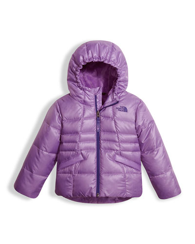Girls' Moondoggy 2.0 Down Quilted Jacket, Purple, Size 2-4T