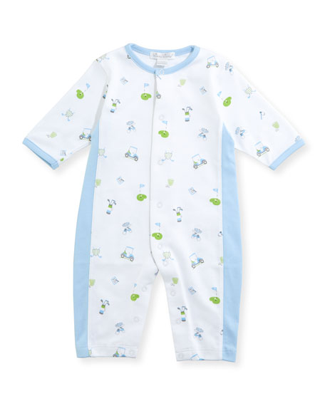 Daddy's Caddy Pima Coverall, Size 3-24 Months