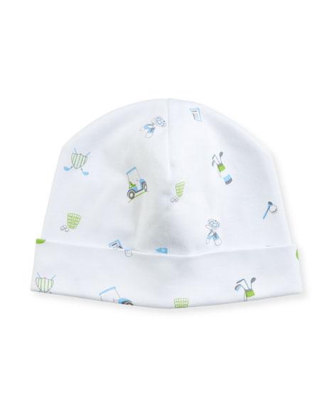 Daddy's Caddy Pima Baby Hat, Blue