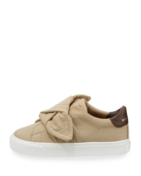 Westford Canvas Sneaker w/ Knot Detail, Youth