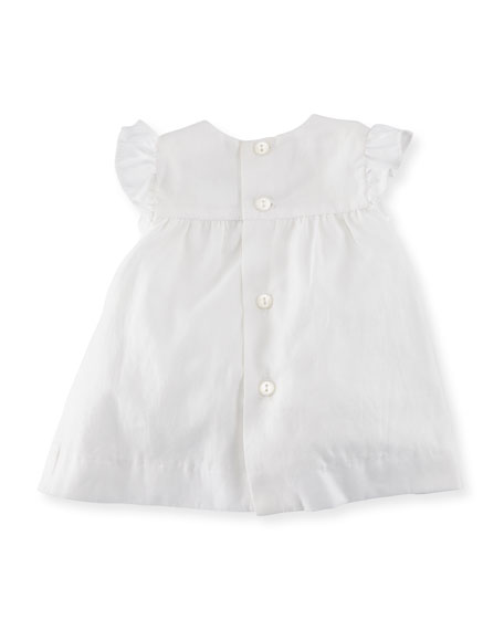 Cotton Dress Layette Set, Size Newborn-9M