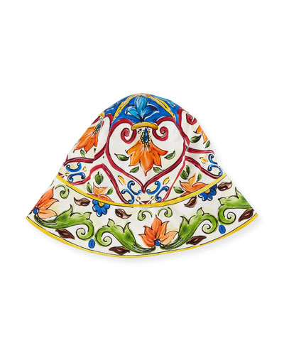 Girls' Maiolica Sun Hat