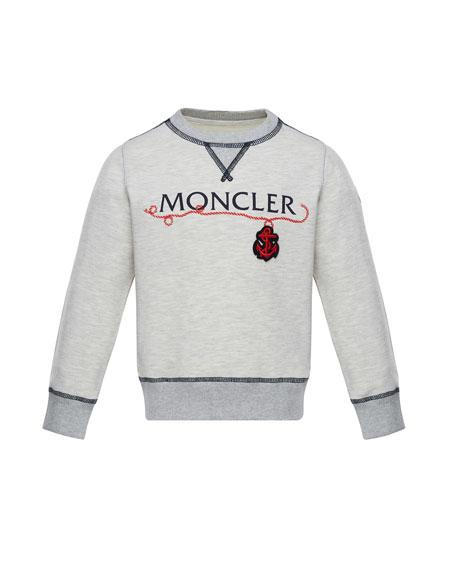 Maglia Pullover Logo Sweatshirt, Size 8-14