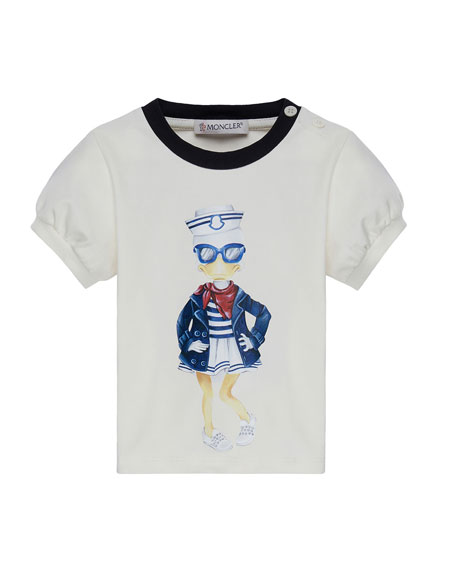 Maglia Short-Sleeve Sailor Duck T-Shirt, Size 12M-3Y
