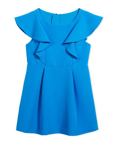 Cady Ruffle Dress, Size 4-7