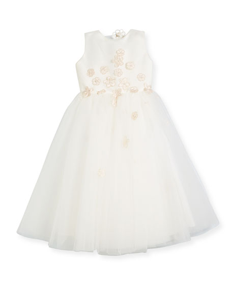 Tulle Flowers Dresses
