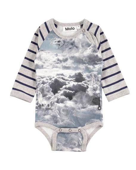 Floyd Cloud Figures Printed Bodysuit, Size 3-12 Months