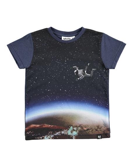 Ragnij Sky Diver Printed T-Shirt, Size 4-10