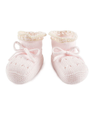 Knitted Booties, Infant