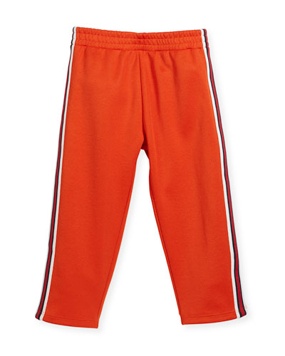 Jogging Pants w/ Banded Sides, Size 12-24 Months