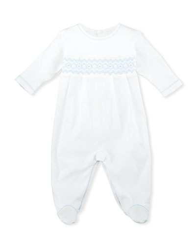 CLB Summer Pima Footie Playsuit, Size Newborn-9M