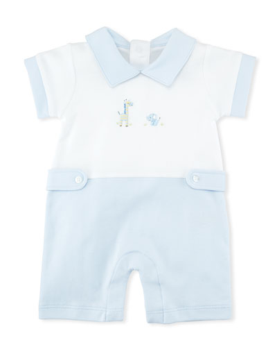 Scattered Baby Jungle Pima Playsuit, Size 0-18 Months