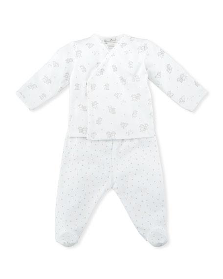 Sweetest Dreams Footed Pajama Set, Size Newborn-9M