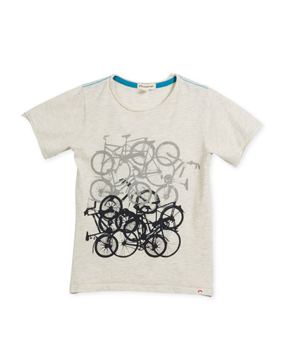 Bike Jam Graphic T-Shirt, Size 2-10
