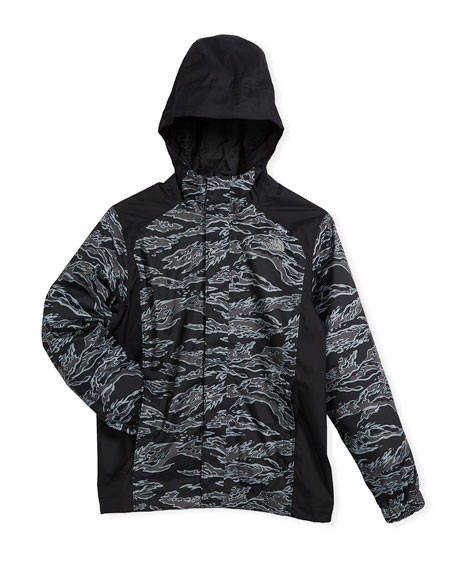 The North Face Resolve Reflective Rain Jacket, Size