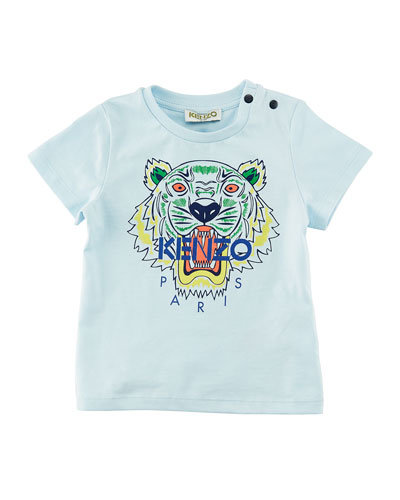 Short-Sleeve Logo Tiger Tee, Size 12-18 Months