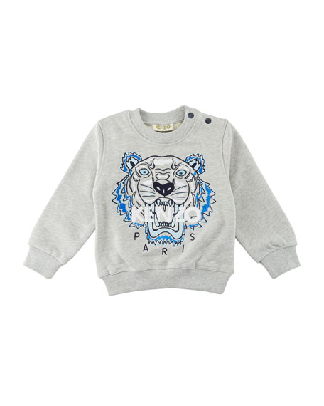 Kenzo Tiger Embroidered Sweater, Size 12-18 Months
