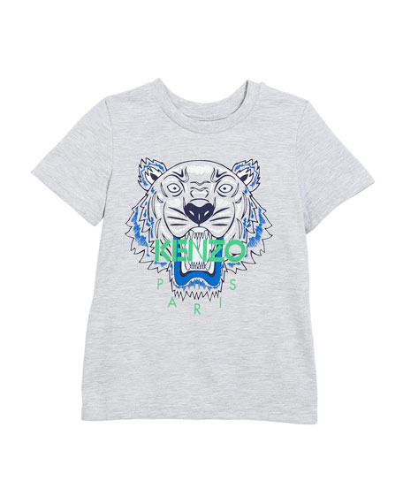 Tiger Face Graphic T-Shirt, Sizes 14-16