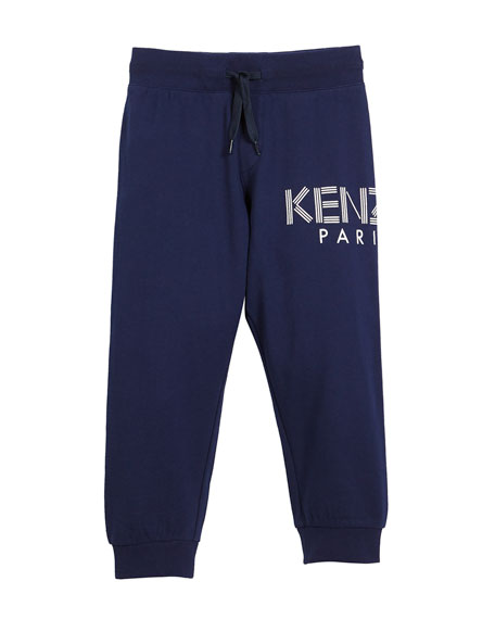 Drawstring Logo Sweatpants, Size 4-6
