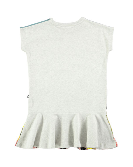 Caeley Short-Sleeve Mountain Horse Dress, Size 2T-12