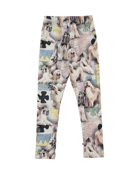 Niki Dogtastic Jersey Stretch Leggings, Size 2-10