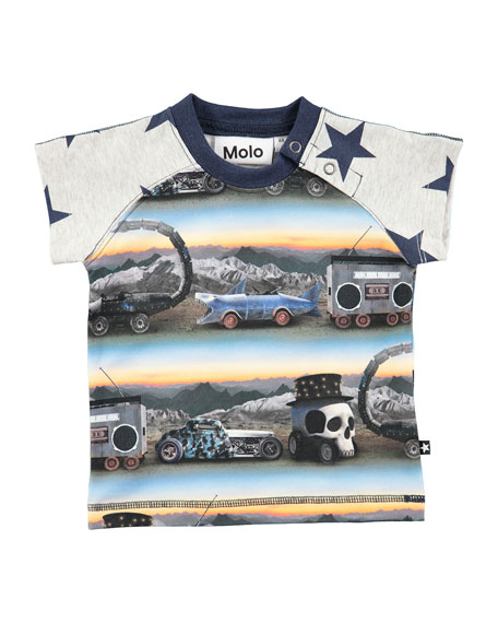 Molo Egon Short-Sleeve T-Shirt, Size 6-24 Months