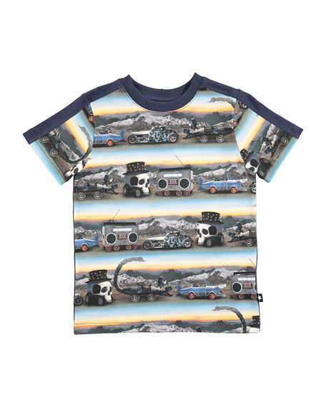 Rishi Short-Sleeve Graphic T-Shirt, Size 4-10