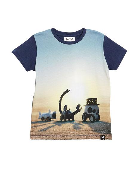 Molo Ragnij Black Rock Desert Short-Sleeve T-Shirt, Size