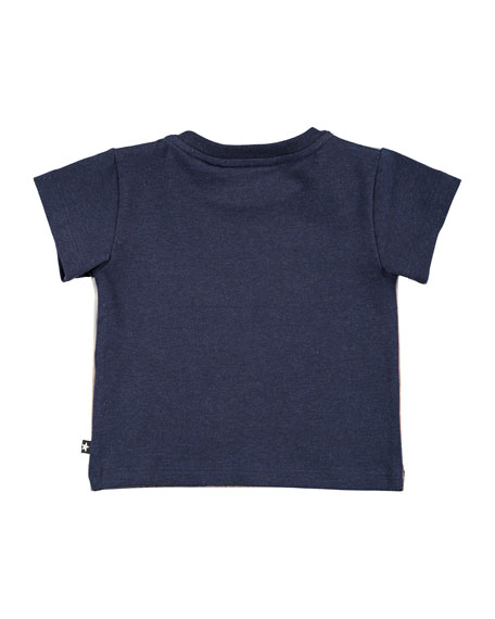 Eddie Black Rock Desert Short-Sleeve T-Shirt, Size 6-24 Months