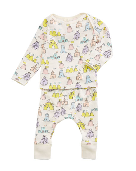 Buster + Macy Sandcastle Tee & Matching Leggings, Size 3-18 Months