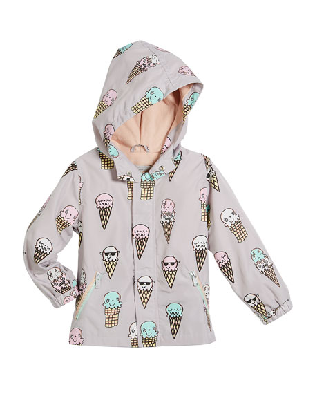 Stella McCartney Kids Eve Color-Changing Ice Cream Hooded