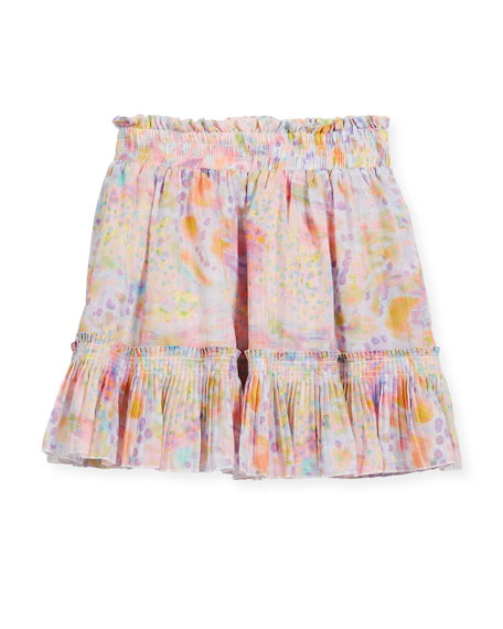 Twinkle Watercolor Skirt, Size 4-14