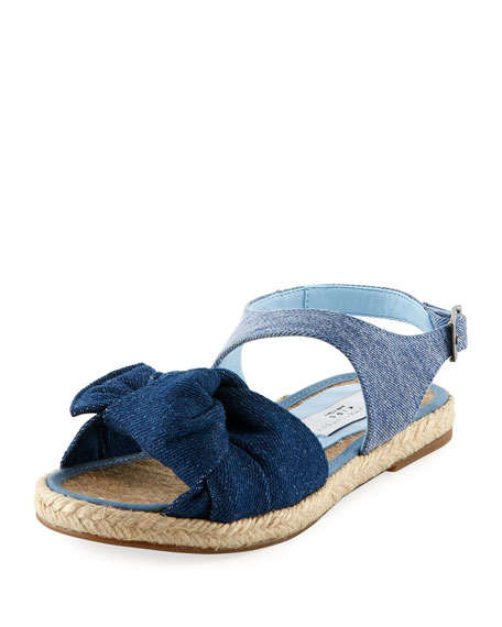 Rori Denim Espadrille Sandal, Toddler/Kid in Blue