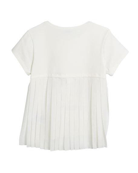 Short-Sleeve Sneaker T-Shirt, Size 8-16