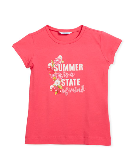 Summer is a State of mind T-Shirt, Size 3-7