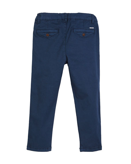Basic Stretch Twill Trousers, Size 12-36 Months