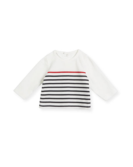 Striped Cotton Layette Set, Size 1-12 Months