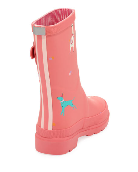 Llama Rubber Rain Boot, Toddler/Kid