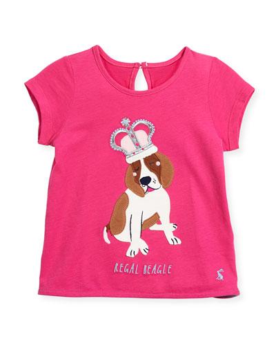 Regal Beagle Short-Sleeve T-Shirt, Size 3-6