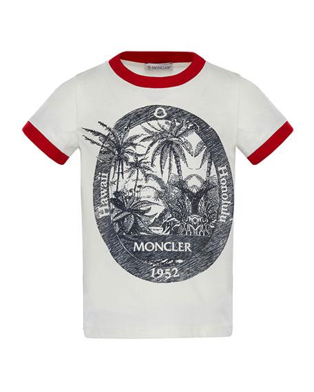 Ringer Hawaii T-Shirt, Size 8-14