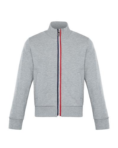 Flag Zip-Up Jacket, Size 4-6