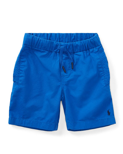 Parachute Twill Shorts, Size 5-7