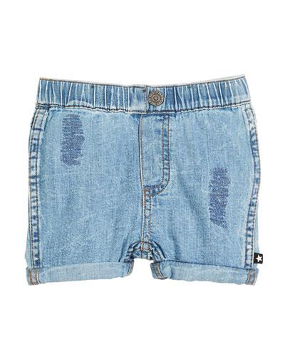Severin Vintage Denim Shorts, Size 6-24 Months