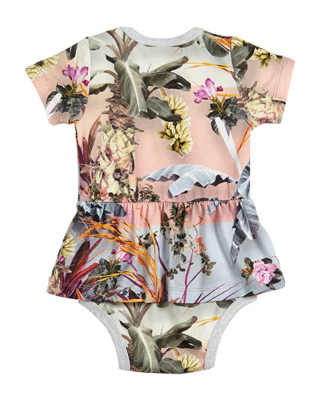 Frannie Palm Springs Skirted Bodysuit, Size 3-12 Months