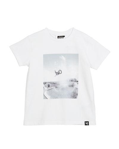 Ragnij BMX Short-Sleeve T-Shirt, Size 4-10