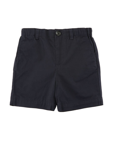 Burberry Sean Cotton Twill Shorts, Size 6M-3Y
