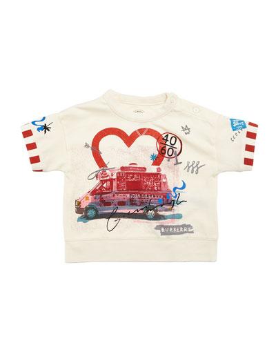 Adella Ice Cream T-Shirt, Size 12M-3