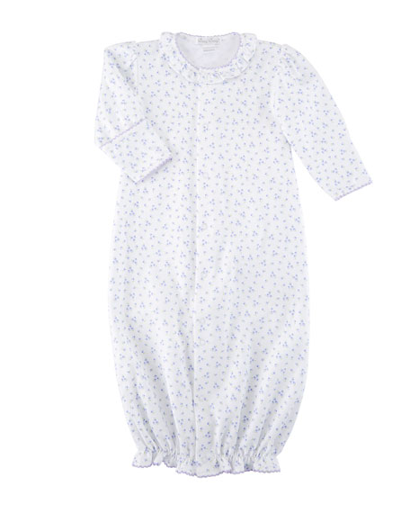 Little Girls Dreams Convertible Pima Gown, Size Newborn-S